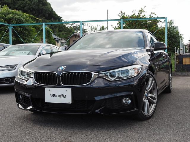 BMW 440iグランクーペ Mスポーツ 赤レザーシート ETC