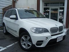 BMW X5xDrive35i 地デジHDDナビ 革 サンルーフ 4WD