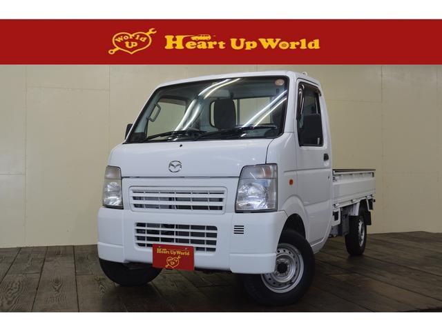 マツダ KC 5速マニュアル 2WD  パワステ 軽トラック