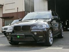 BMW X5xDrive 革シート エアロ サンルーフ バックカメラ