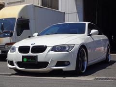 BMW335iカブリオレ Mスポーツ 黒革シート ワーク19アルミ