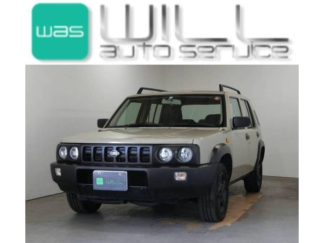 日産 ラシーン フォルザ 4WD ルーフレール 背面タイヤ ETC NAEDIステアリング 純正AW15インチ Bluetooth対応オーディオ USB接続端子 エアコン 電動格納ミラー
