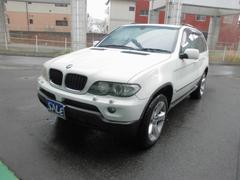 BMW X53.0i ブラックレザー キーレス 社外ナビ Bカメラ
