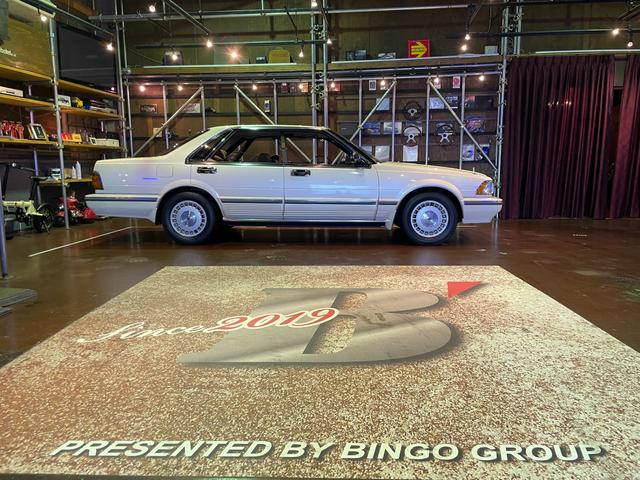 日産 ブロアム ターボ フルノーマル車です。外装塗装も当時ままです。当時、メーカーのスーパーフッ素塗料車