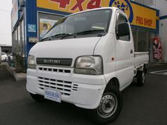 キャリイトラックKU 4WD エアコン パワステ