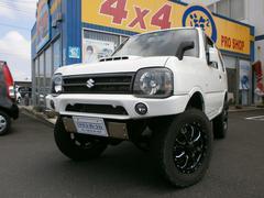 ジムニーXGターボ4WD 5速MT リフトアップ 社外マフラー