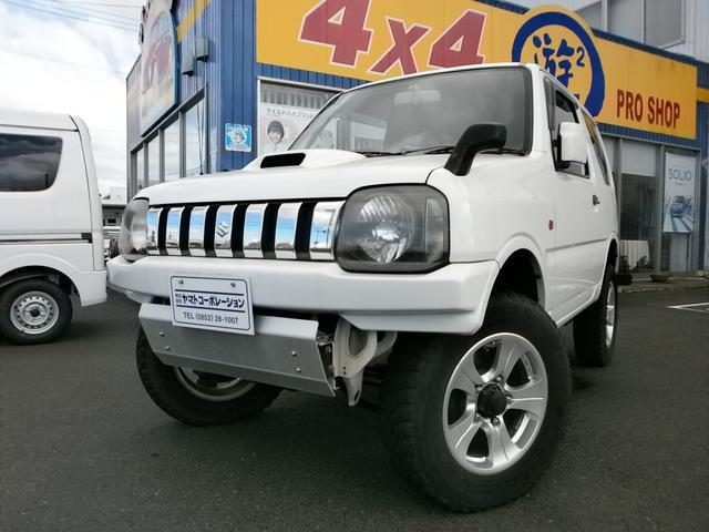 スズキ XG 4WD 4AT リフトアップ 社外バンパー 社外AW