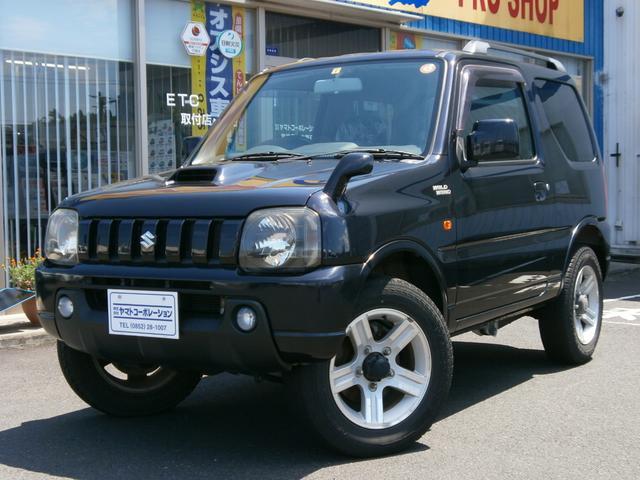 スズキ ジムニー ワイルドウインド 4WD ターボ Wエアバッグ ABS シートヒーター