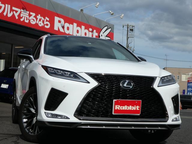 レクサス RX300 Fスポーツ 後期 パノラマルーフ 黒革 後席電動