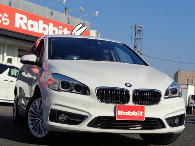 BMW 218dグランツアラー スマートキー 黒レザー 純HDDナビ バックカメラ パワーバックドア パワーシート シートヒーター 衝突防止 レーダークルーズ