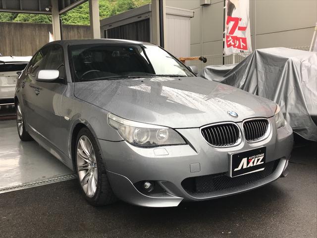 BMW 525i サンルーフ 純正ナビ ETC クルコン 18インチ