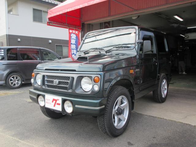 スズキ ジムニー ワイルドウインド パートタイム4WD 高低二段切替式 インタークーラーターボ フロア3AT