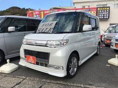 タントカスタムRS TV ナビ 軽自動車 パールホワイトIII
