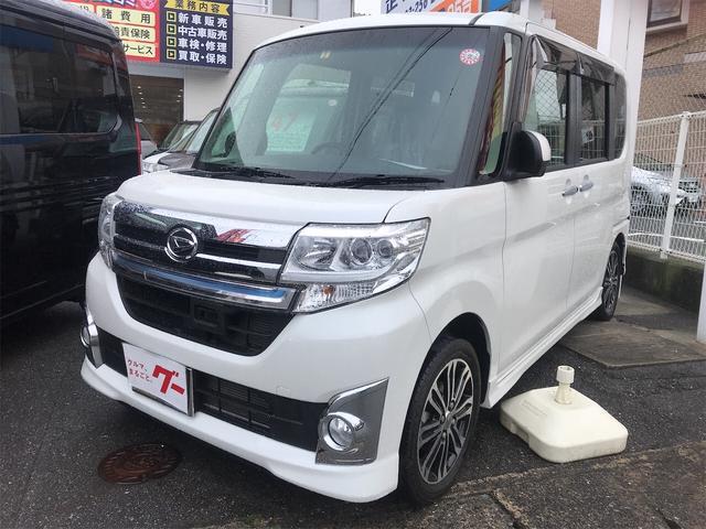 ダイハツ カスタムRS トップエディションSA ナビ 軽自動車 ETC