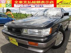 レパードXJ2000 後期最終型 ワンオーナー車 HDDナビ