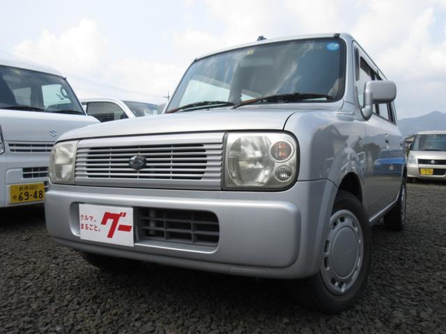 スズキ G 4WD キーレス CD シートヒーター フルフラット