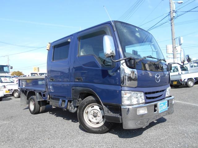 マツダ カスタム 6人乗り メッキFバンパー 最大積載量1250kg