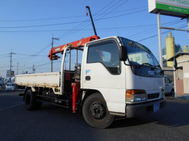 いすゞ クレーン 古川ユニック ラジコン ETC 5速MT