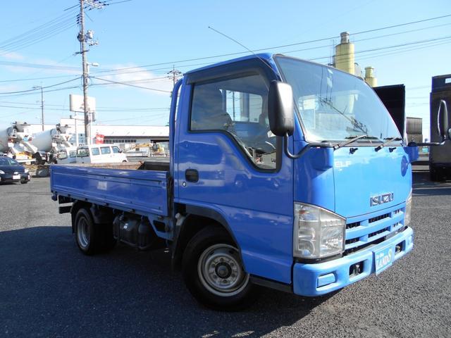 いすゞ エルフトラック  AT 低床平ボデ 最大積載量1500kg キーレス