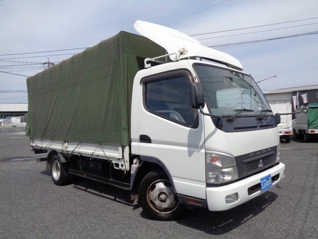 三菱ふそう  幌付車 最大積載量2000kg