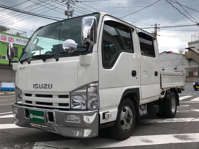 いすゞ Wキャブ トラック AC MT ナビ ワンセグTV ETC