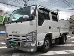 エルフトラックWキャブ トラック AC MT ナビ ワンセグTV ETC