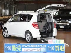 ラクティス福祉車両 リアスロープ5人 車いす電動固定装置 後退防止装置