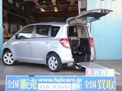 ラクティス福祉車両 リアスローパー 車いす電動固定装置 後退防止装置