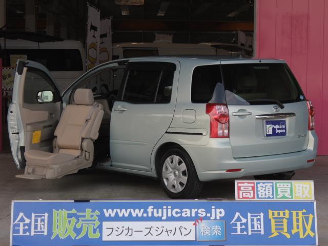 トヨタ 福祉車両 助手席リフトアップシート DVDナビ 左後パワスラ