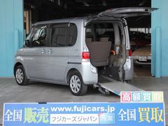 タント福祉車両 リアスロープ 車いす電動固定装置 後退防止装置