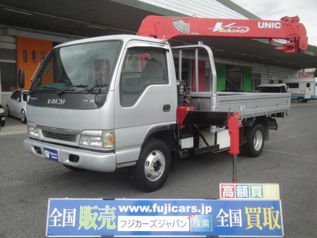 いすゞ クレーン5段 ラジコン積載3700Kg
