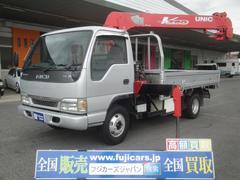 エルフトラッククレーン5段 ラジコン積載3700Kg