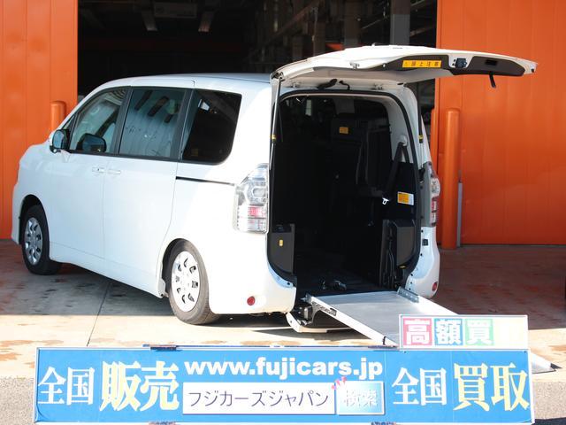 トヨタ 福祉車輌 ウェルキャブ スローパー 電動ウィンチ 固定装置