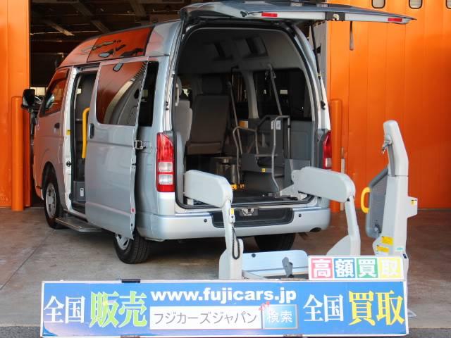 トヨタ 福祉車輌 ウェルキャブ Bタイプ 電動リアリフト 車いす2基