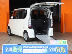 N BOX+福祉車両 スローパー 電動ウィンチ SDナビ ETC