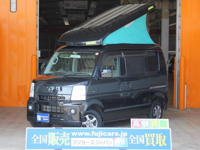 スズキ キャンピングカー広島 ピクニック ポップアップ メモリーナビ