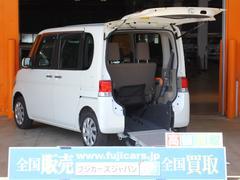 タント福祉車両 スローパー リアシート付 電動固定 後退防止ベルト