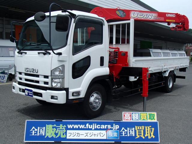 いすゞ クレーン4段 ラジコン 積載2800Kg