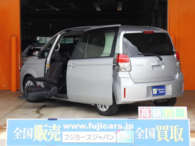 トヨタ F ウェルキャブ 助手席リフトアップシート パワースライド