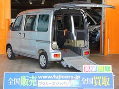 ハイゼットカーゴ福祉車両 スローパー 電動ウィンチ 手動固定ベルト