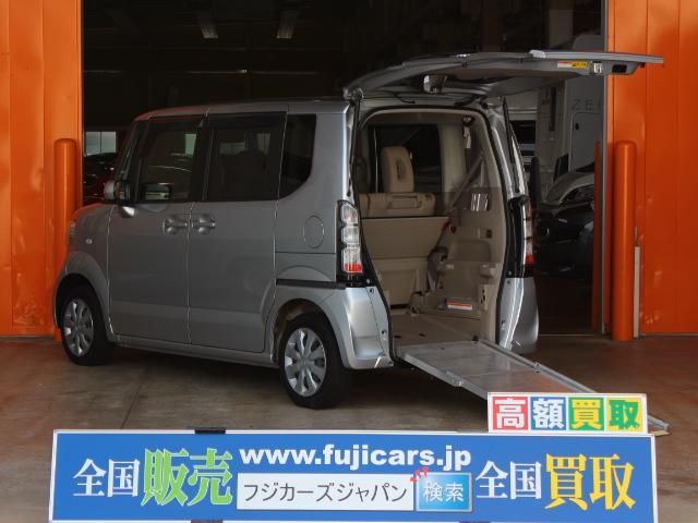 ホンダ N-BOX+ 福祉車両 スローパー 車いす一基積み 4人乗車 手動固定