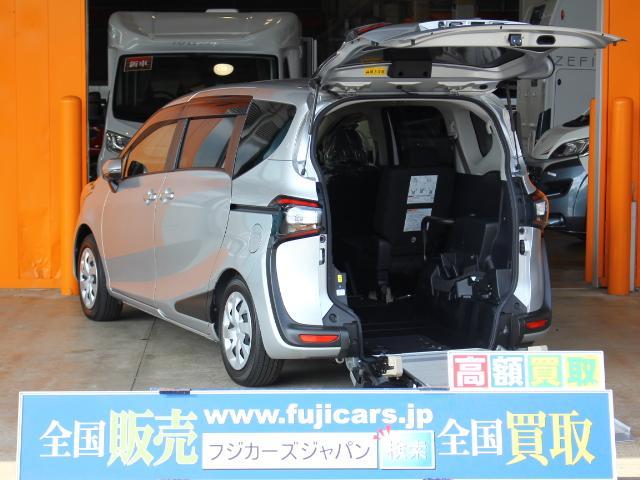 トヨタ ウェルキャブ 福祉車両 タイプII スローパー 後退防止