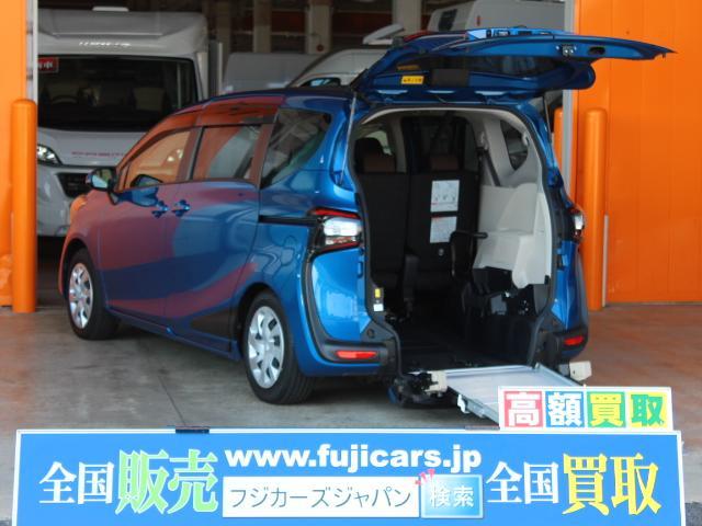 トヨタ ウェルキャブ タイプIII 福祉車両 電動ウィンチ 両側P