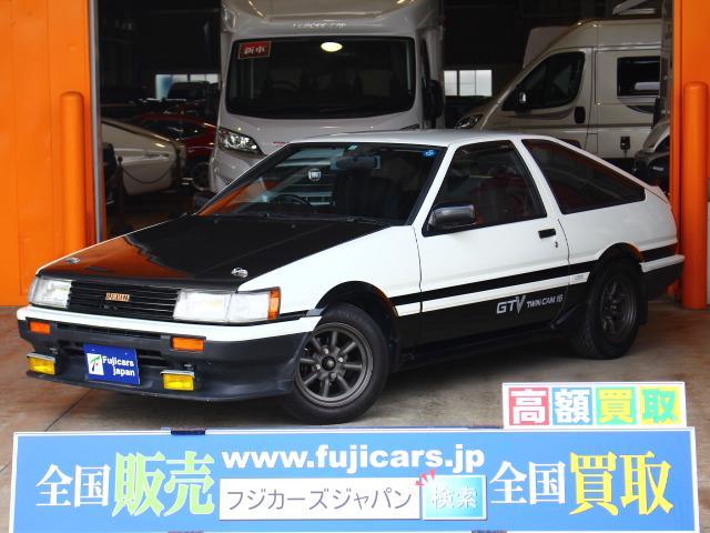 トヨタ GTV ワンオーナー HKSマフラー TRDショック