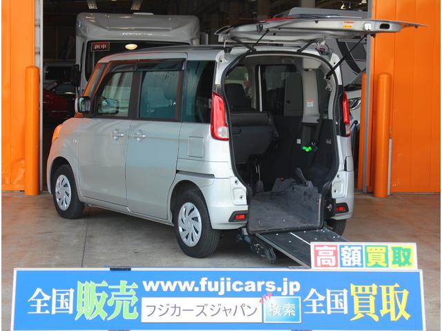 スズキ 車イス移動車 スローパー 福祉車両 レーダーブレーキサポート