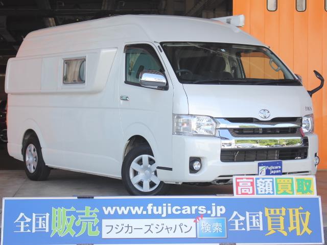 トヨタ FOCS ホライゾン 1500Wインバーター 電子レンジ