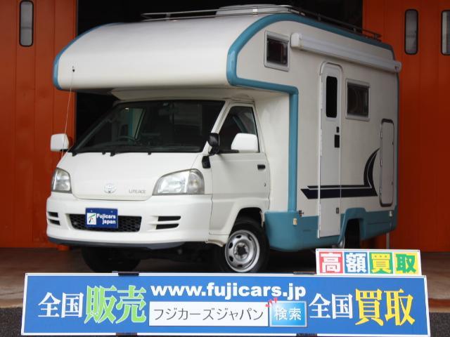 トヨタ バンテック アトム ルーフエアコン FFヒーター 電子レンジ