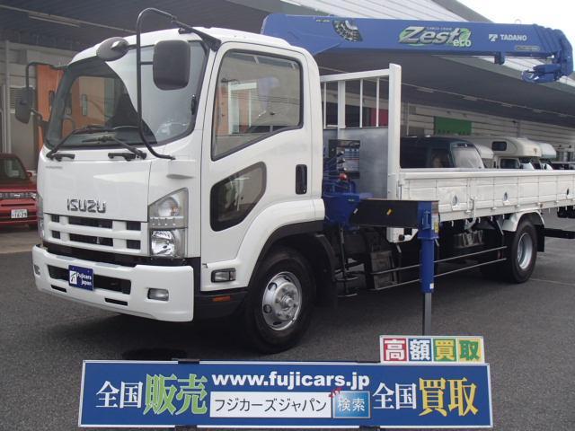 いすゞ クレーン4段 ラジコン 積載2700Kg