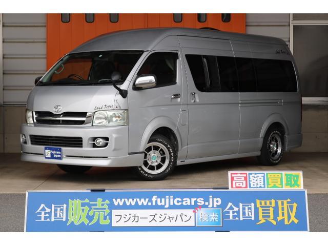 トヨタ  トイファクトリー ランドティピー FFヒーター シングルサブバッテリー 走行充電 コンバーター 350Wインバーター 40L冷蔵庫 ルーフベント ランチョショック メモリーナビ ETC