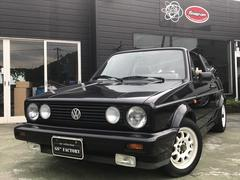 VW ゴルフカブリオレ左ハンドル CD 4人乗り オープンカー 3AT